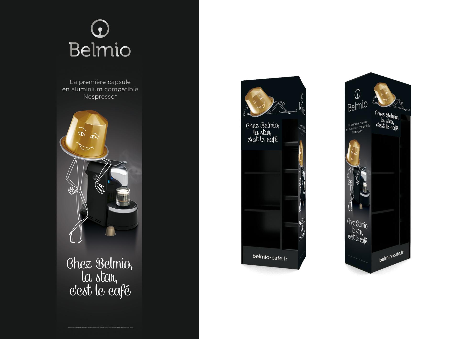 Communication capsules Belmio.