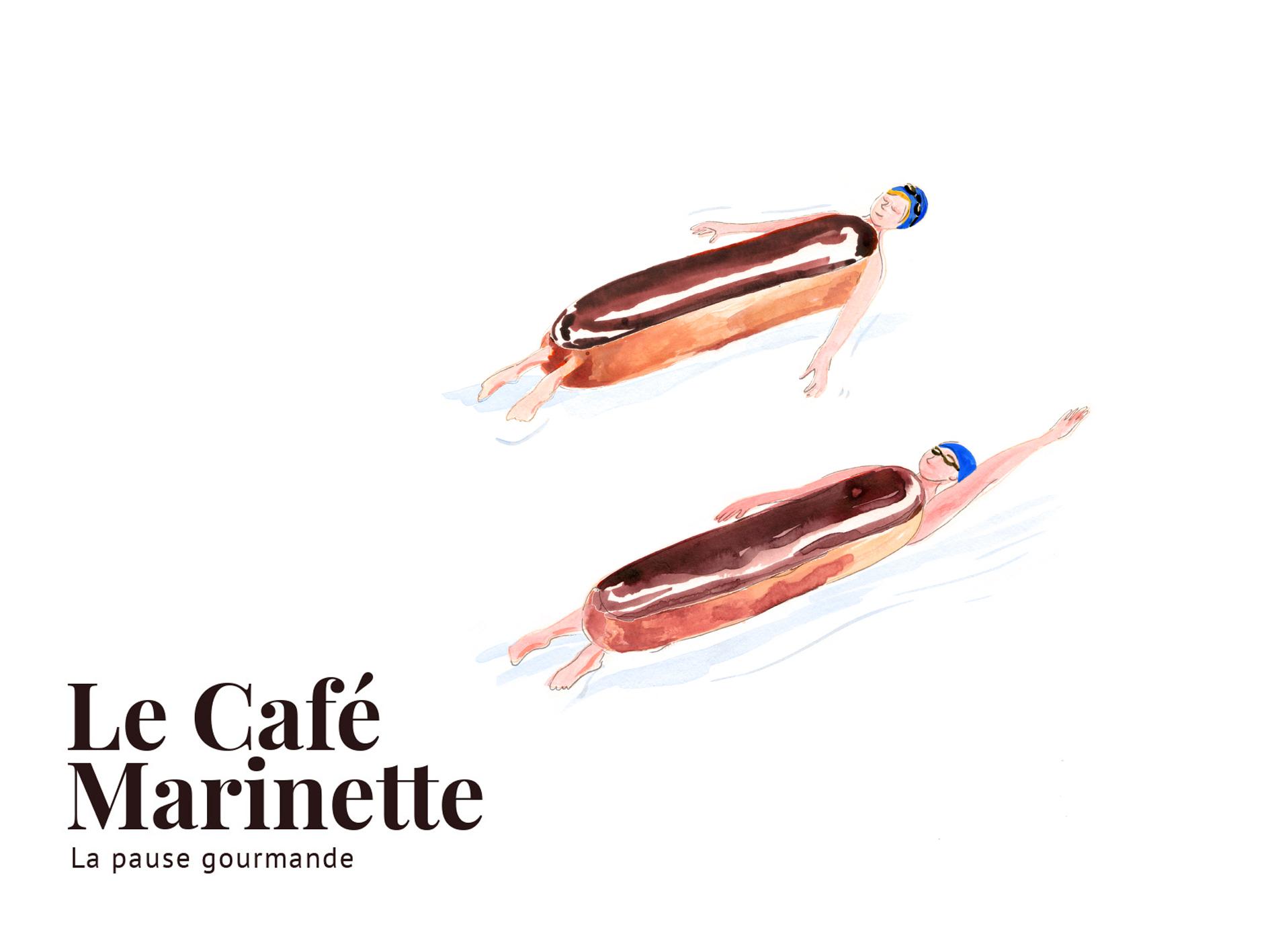 """Illustration des """"Éclairs aux chocolat"""""""